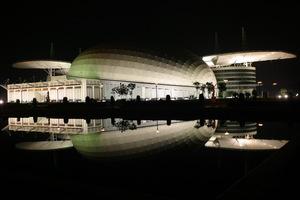 影视艺术中心夜景