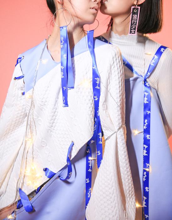 2017级中外服装学校学生针织服装作品